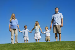 красивейшие детеныши семьи Стоковое Изображение