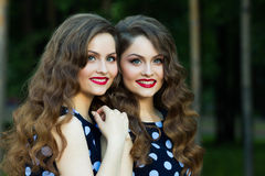 красивейшие девушки молодые Стоковые Фотографии RF