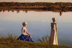 красивейшие детеныши девушки 2 поля Стоковые Фото