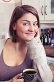 красивейшие детеныши женщины брюнет Стоковые Фотографии RF