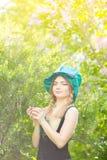 красивейшие детеныши женщины портрета Стоковое фото RF