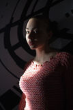 красивейшие детеныши женщины портрета Стоковые Фотографии RF