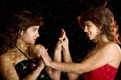 красивейшие женские близнецы Стоковое Фото
