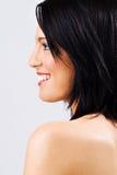 красивейшие женские детеныши профиля Стоковое Фото