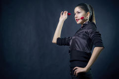красивейшие женские сердца стоковая фотография