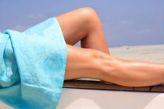 красивейшие женщины ноги Стоковое Изображение