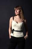 красивейшие женщины портрета молодые Стоковые Фотографии RF