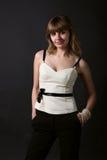 красивейшие женщины портрета молодые Стоковая Фотография RF