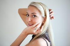 красивейшие женщины портрета молодые Стоковое Изображение RF