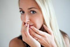 красивейшие женщины портрета молодые Стоковые Изображения RF