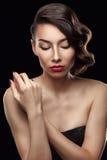 красивейшие женщины портрета стоковая фотография rf