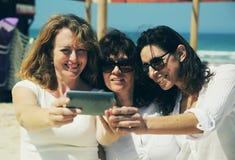 красивейшие 3 женщины Стоковое фото RF