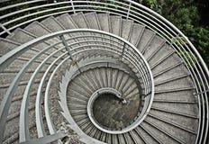 Красивейшие закручивая в спираль лестницы Стоковая Фотография RF