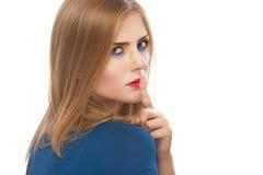 Красивейшие звоноки женщины для безмолвия Стоковые Фото