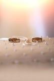 красивейшие золотистые кольца Стоковое Изображение RF