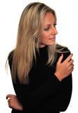 красивейшие изолированные нежые детеныши белой женщины Стоковая Фотография