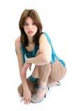 красивейшие испанские детеныши женщины Стоковые Фотографии RF