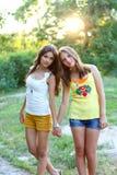 Красивейшие кавказские модели Стоковое Фото