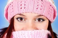 красивейшие коричневые глаза стоковые фото
