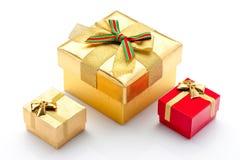 Красивейшие коробки для подарков Стоковая Фотография RF