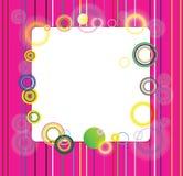 Красивейшие круги иллюстрация вектора