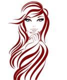 красивейшие линии девушки Стоковые Фотографии RF