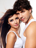 красивейшие любовники 2 Стоковые Фото