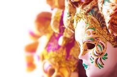 красивейшие маски venetian Стоковые Фото