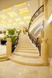 Красивейшие мраморные лестницы Стоковые Фото