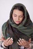 красивейшие мусульманские детеныши женщины Стоковые Изображения RF