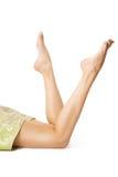 Красивейшие ноги после вощить Стоковое фото RF