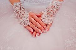 красивейшие ногти рук Стоковое Изображение RF