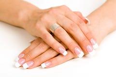 красивейшие ногти Стоковая Фотография RF