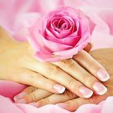 красивейшие ногти стоковые фото