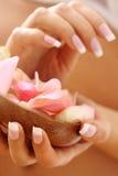 красивейшие ногти стоковые изображения