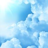 красивейшие облака Стоковая Фотография
