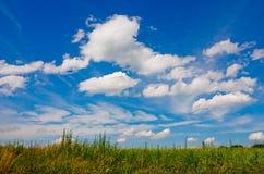 красивейшие облака стоковое изображение