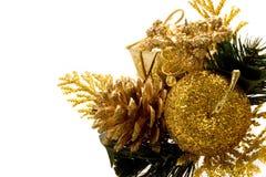 красивейшие орнаменты рождества Стоковое Фото