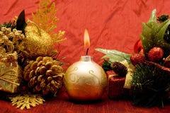 красивейшие орнаменты рождества Стоковая Фотография RF