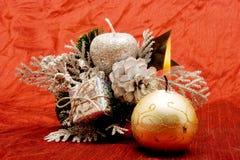красивейшие орнаменты рождества Стоковое Изображение RF
