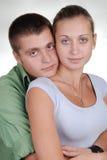 красивейшие пары любят детенышей стоковое изображение rf