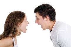 красивейшие пары присягают детенышам Стоковые Фотографии RF