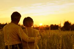 красивейшие пары счастливые Стоковое Фото