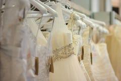 красивейшие платья немногое венчание Стоковое Фото