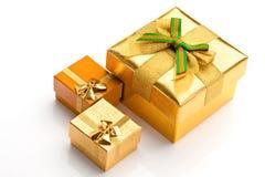 красивейшие подарки коробок Стоковое Изображение