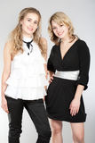 красивейшие портреты 2 девушок Стоковые Изображения RF