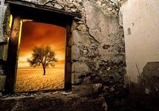 красивейшие руины Стоковые Изображения
