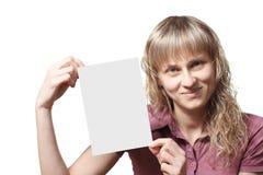 красивейшие руки девушки визитной карточки Стоковые Фото