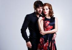 Красивейшие сексуальные пары в влюбленности Стоковые Фотографии RF