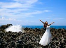 красивейшие сновидения невесты Стоковое Фото